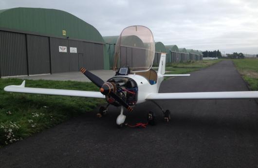 équilibrage d'une hélise d'avion